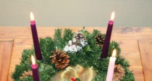 Advent Crown or Wreath in Mexico